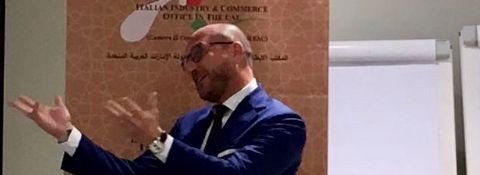 Dubai, 24 Marzo 2018 - INTERVENTO DURANTE LA 15° ASSEMBLEA GENERALE DELLA CAMERA DI COMMERCIO ITALIANA NEGLI EAU