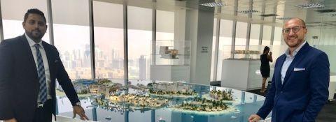 """The World Dubai, 11 ottobre 2018 AVV. FACCHINETTI DIVENTA AGENTE PER L'ITALIA DI """"THE EARTH OF EUROPE"""""""