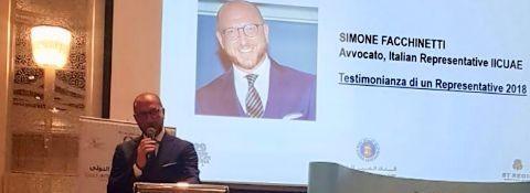 3-4 November 2018, GULF INTERNATIONAL CONGRESS 2019  SPOKESMAN ATTY. SIMONE FACCHINETTI