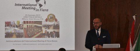 Milano, 24-25 gennaio 2019 INTERNATIONAL MEETING in FIERA INTERVENTO DELL'AVV. FACCHINETTI E DELLA DOTT.SSA NARA ASLANYAN