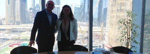 Meeting in Dubai 1 e 2 maggio 2016 per sviluppo progetti di internazionalizzazione imprese italiane in EAU