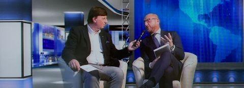 """TV CANALE EUROPA INTERVISTA AVV. FACCHINETTI IN OCCASIONE DELLA PRESENTAZIONE DEL LIBRO """"SPONSOR E SPONSORIZZATI"""""""