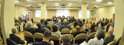 Milan, 25th November 2019 - FORUM GLOBALISATION OF BUSINESSES, FROM EXPO 2015 MILAN TO EXPO 2020 DUBAI WITH THE ITALIAN CHAMBER OF COMMERCE IN UAE, UNIONE ARTIGIANI, LOMBARDY REGION, THE MUNICIPALITY OF MILAN, RAMPELLO CREATIVE STUDIO, POLITECNICO OF MILAN, PROMOS, CORRIERE DELLA SERA, TGCOM MEDIASET, DUBAI FUTURE FOUNDATION