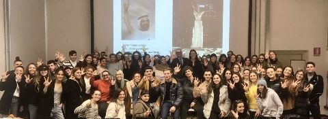 Milan – 4th December 2019 - NABA (NUOVA ACCADEMIA BELLE ARTI) UNIVERSITY COURSE IN FASHION MARKETING AND MANAGEMENT  LECTURE BY LAW. SIMONE FACCHINETTI ON FASHION LAW AND OPPORTUNITIES FOR FASHION IN DUBAI