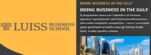 "ROME, 13th DECEMBER 2019 - LUISS BUSINESS SCHOOL, PROFESSOR AT THE LECTURE OF THE MASTER ""DOING BUSINESS IN THE GULF"""
