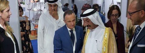 26 ottobre 2016 - Avv. Facchinetti presenta Alma Creative Luxury a Sua Eccellenza Sheikh Hasher Bin Maktoum Al Maktoum