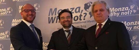 MEETING internacio organismo fiera  Monza y  Brianza 2017: SILVANO MARTINOTTI y SIMONE FACCHINETTI oradores de la Cámara de Comercio Italiana EN EMIRATOS ÁRABES UNIDOS en la Expo 2020 y de las oportunidadespara las Empresas Italiane
