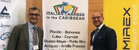 21 LUGLIO 2017 – PADOVA - L'AVV. FACCHINETTI NOMINATO REPRESENTATIVE DELLA ITALIAN CHAMBER IN THE CARIBBEAN