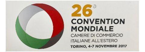 6 novembre 2017 26° CONVENTION MONDIALE CAMERE DI COMMERCIO ITALIANE ALL'ESTERO CENTRO CONGRESSI TORINO INCONTRA