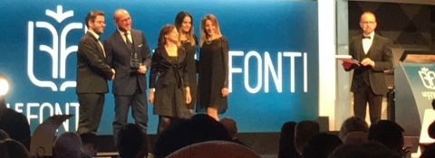 """24th of November 2017 –LEGAL AWARDS """"LE FONTI"""" - MILAN WINNER OF THE PRIZE AS A LEGAL BOUTIQUE OF EXCELLENCE OF THE YEAR FOR THE RELATIONSHIPS BETWEEN ITALY  AND THE MIDDLE EAST"""