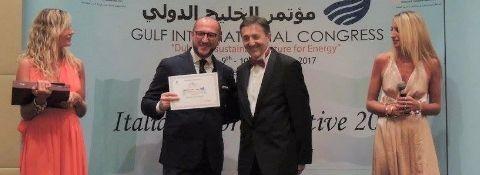 "December 10, 2017, DUBAI, UAE - ""THE BEST ITALIAN REPRESENTATIVE"" OF ITALIAN INDUSTRY & COMMERCE OFFICE IN THE UAE"